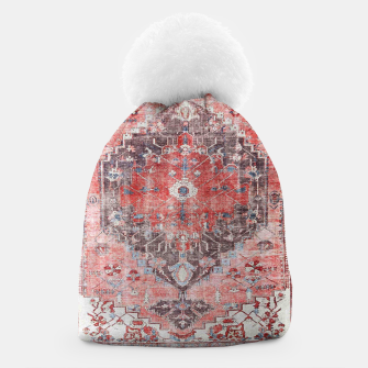 Thumbnail image of Floral Traditional Moroccan Artwork  Beanie, Live Heroes