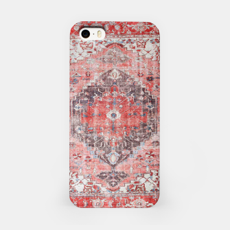 Floral Traditional Moroccan Artwork  iPhone Case thumbnail image