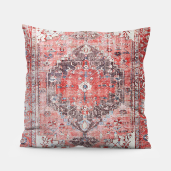 Floral Traditional Moroccan Artwork  Pillow thumbnail image