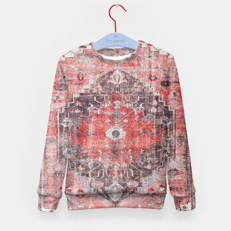 Floral Traditional Moroccan Artwork  Kid's sweater thumbnail image