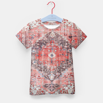 Floral Traditional Moroccan Artwork  Kid's t-shirt thumbnail image