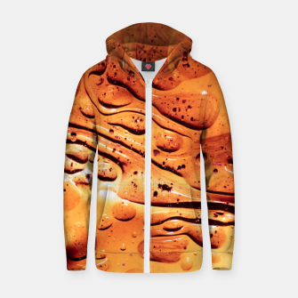 Thumbnail image of Delicious Zip up hoodie, Live Heroes