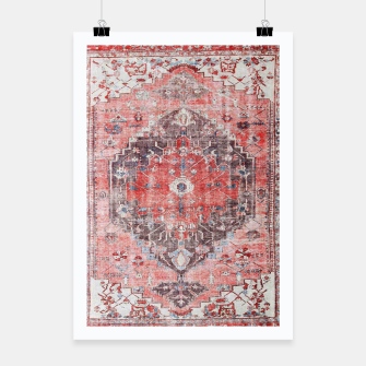 Thumbnail image of Floral Traditional Moroccan Artwork  Poster, Live Heroes