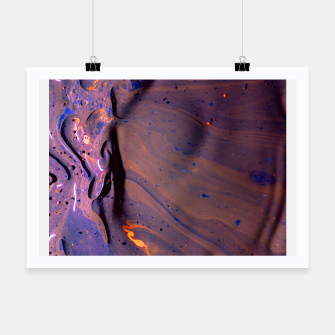 Thumbnail image of Organic Purple Poster, Live Heroes