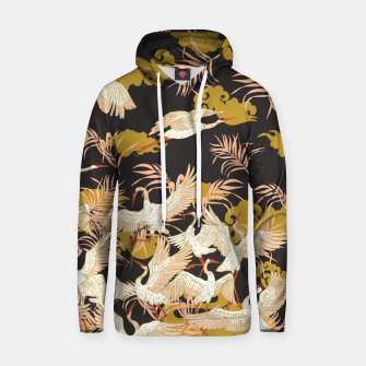 Thumbnail image of Cranes dance at night Sudadera con capucha, Live Heroes