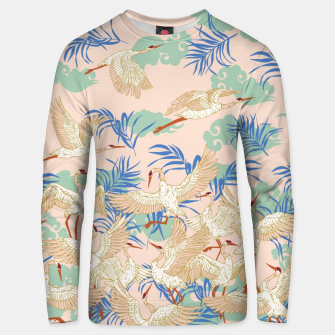 Thumbnail image of Cranes dance tropical I Sudadera unisex, Live Heroes