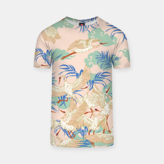Thumbnail image of Cranes dance tropical I Camiseta, Live Heroes