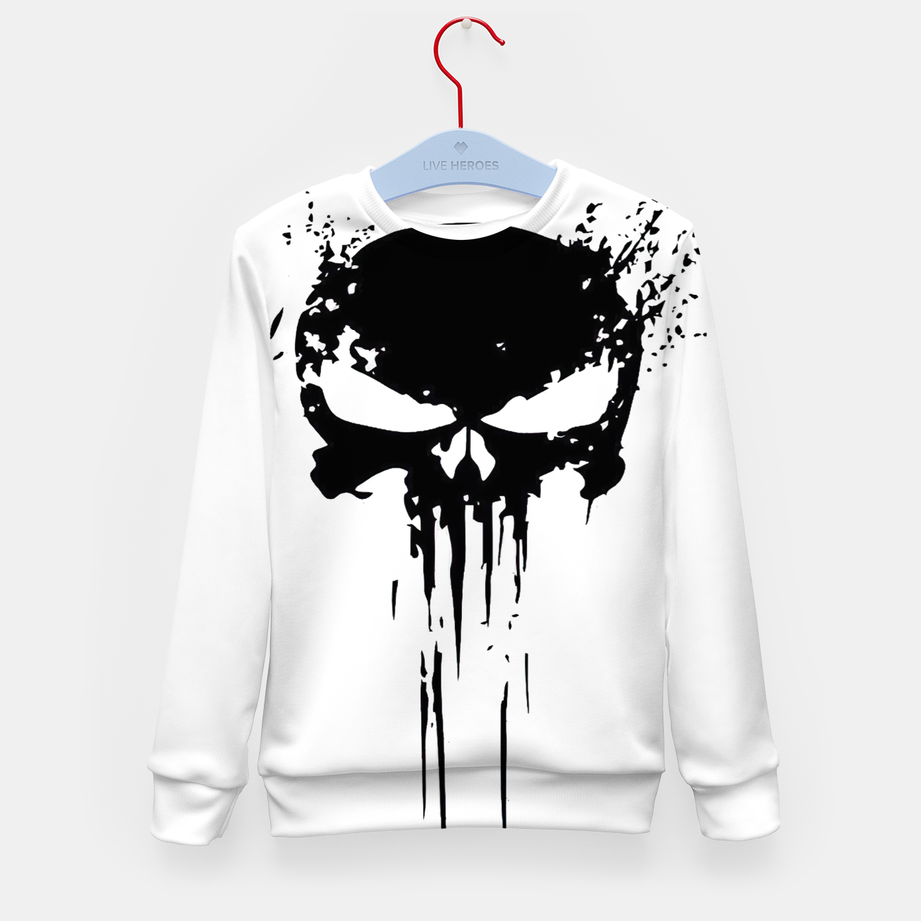 Zdjęcie punisher 2 Kid's sweater - Live Heroes