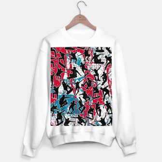 Thumbnail image of Skater Retro Urban Graffiti Sweater regular, Live Heroes