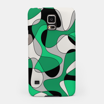 Thumbnail image of Abstract pattern - gray and green. Samsung Case, Live Heroes