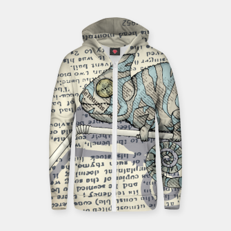 Thumbnail image of Cover Story Zip up hoodie, Live Heroes