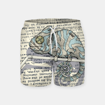 Thumbnail image of Cover Story Swim Shorts, Live Heroes