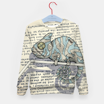 Thumbnail image of Cover Story Kid's sweater, Live Heroes