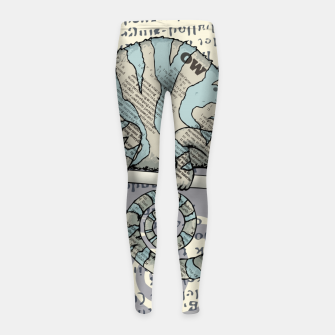Thumbnail image of Cover Story Girl's leggings, Live Heroes