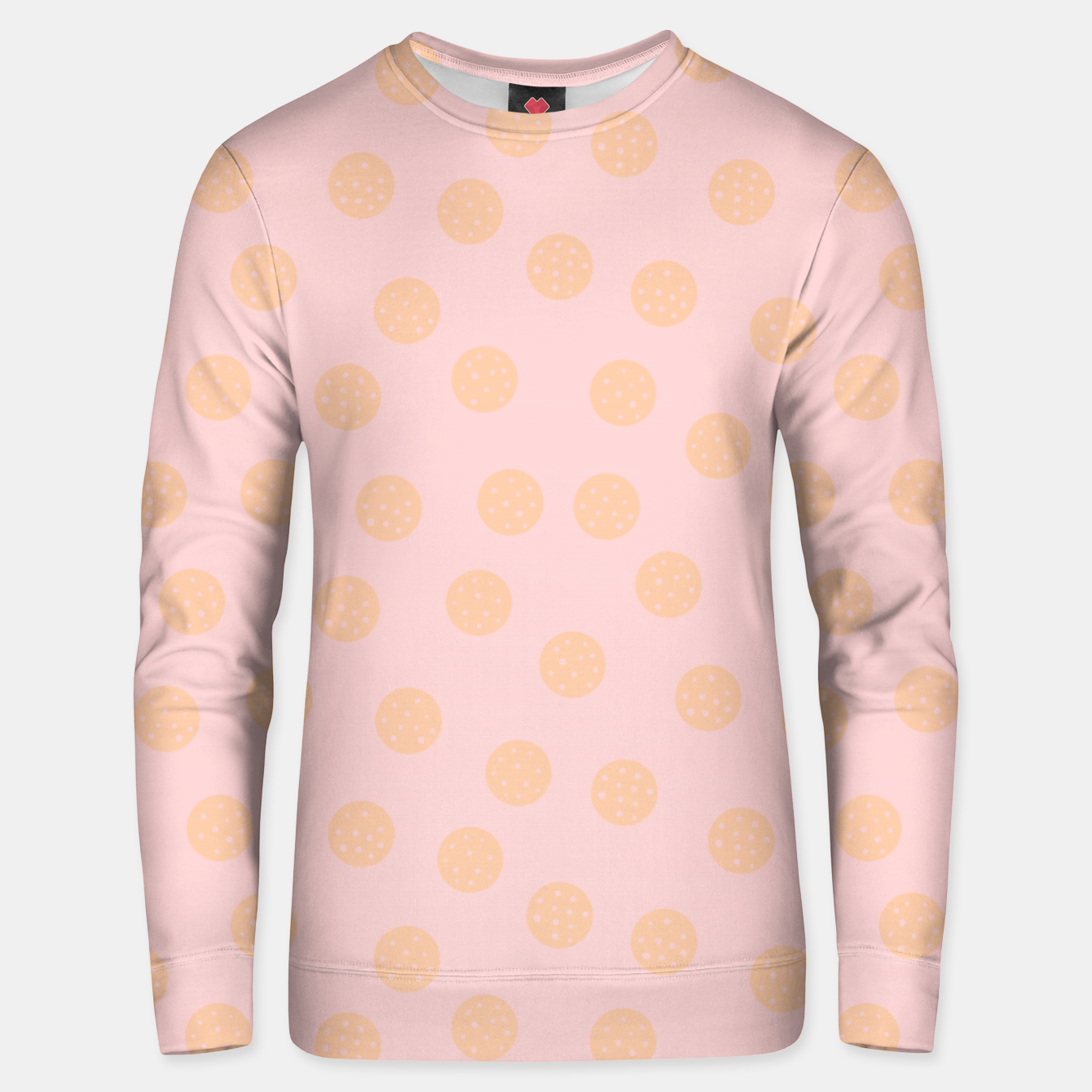 Image of Pastel Dots With Points Unisex sweater - Live Heroes
