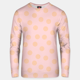 Miniatur Pastel Dots With Points Unisex sweater, Live Heroes
