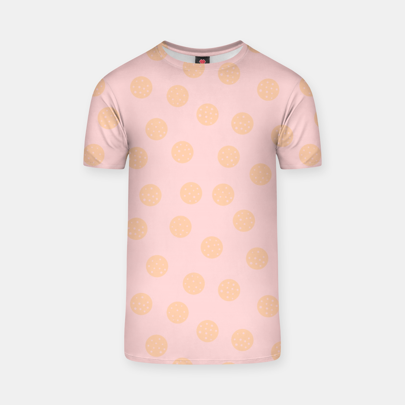Image of Pastel Dots With Points T-shirt - Live Heroes