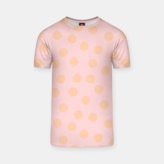 Miniatur Pastel Dots With Points T-shirt, Live Heroes