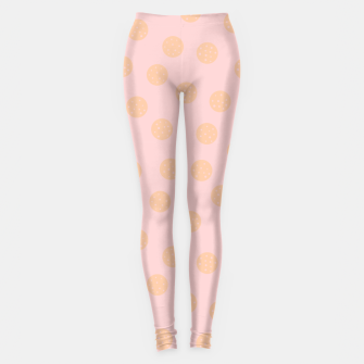 Miniatur Pastel Dots With Points Leggings, Live Heroes
