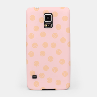 Miniatur Pastel Dots With Points Samsung Case, Live Heroes