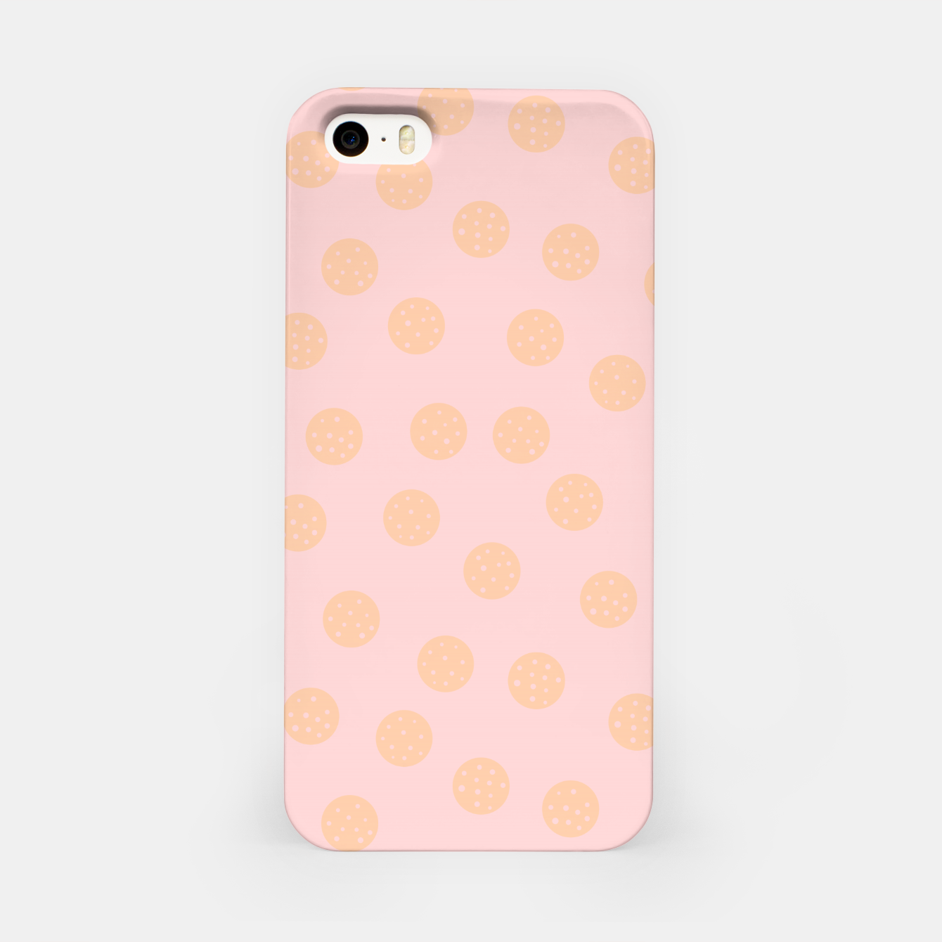 Image of Pastel Dots With Points iPhone Case - Live Heroes