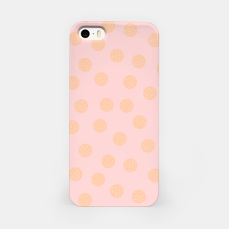 Miniatur Pastel Dots With Points iPhone Case, Live Heroes