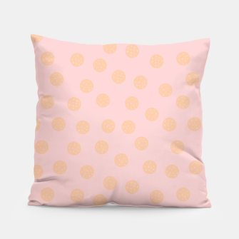 Thumbnail image of Pastel Dots With Points Pillow, Live Heroes