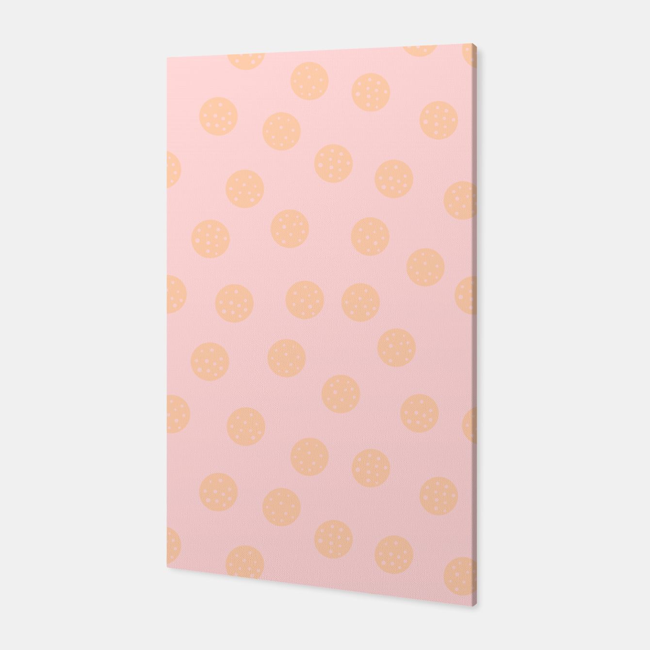 Image of Pastel Dots With Points Canvas - Live Heroes
