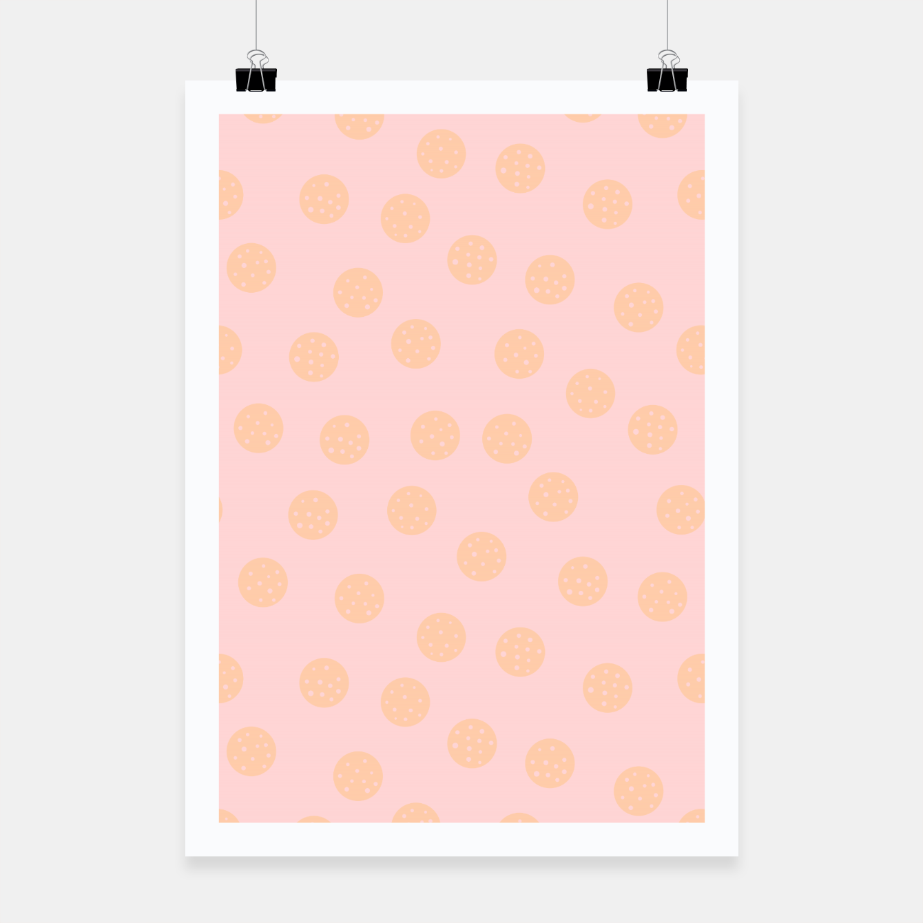 Image of Pastel Dots With Points Poster - Live Heroes