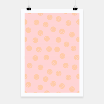 Thumbnail image of Pastel Dots With Points Poster, Live Heroes
