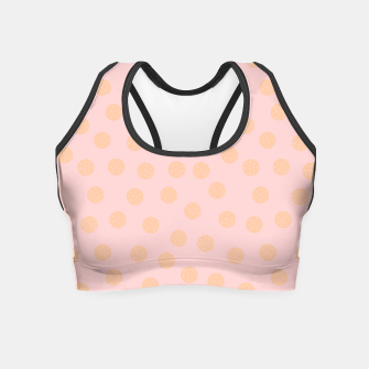 Thumbnail image of Pastel Dots With Points Crop Top, Live Heroes