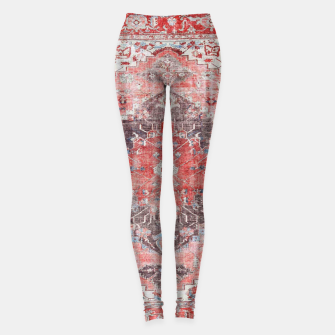 Thumbnail image of Floral Traditional Moroccan Artwork  Leggings, Live Heroes