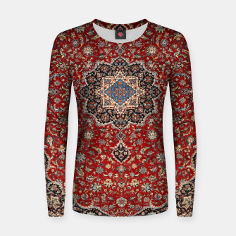 Thumbnail image of Vintage Oriental Traditional Moroccan Artwork Women sweater, Live Heroes