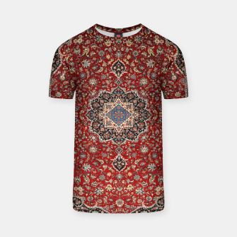 Thumbnail image of Vintage Oriental Traditional Moroccan Artwork T-shirt, Live Heroes