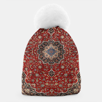 Thumbnail image of Vintage Oriental Traditional Moroccan Artwork Beanie, Live Heroes