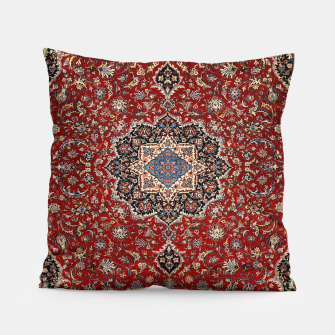 Thumbnail image of Vintage Oriental Traditional Moroccan Artwork Pillow, Live Heroes