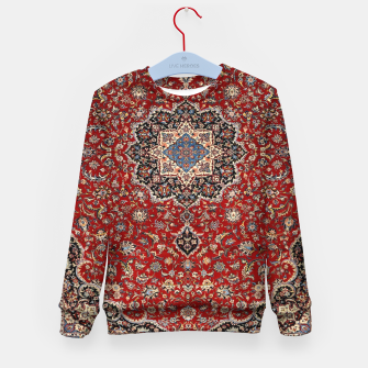 Thumbnail image of Vintage Oriental Traditional Moroccan Artwork Kid's sweater, Live Heroes