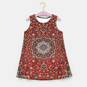 Thumbnail image of Vintage Oriental Traditional Moroccan Artwork Girl's summer dress, Live Heroes