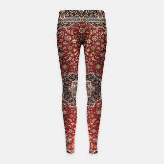 Thumbnail image of Vintage Oriental Traditional Moroccan Artwork Girl's leggings, Live Heroes