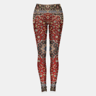 Thumbnail image of Vintage Oriental Traditional Moroccan Artwork Leggings, Live Heroes