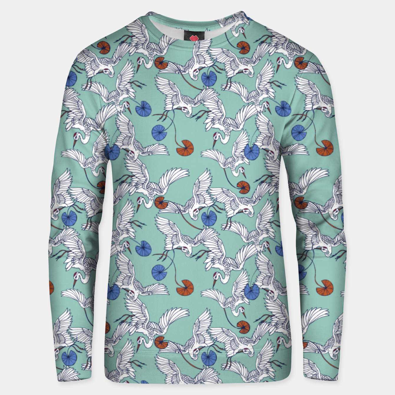 Image de Flock of asian cranes birds Sudadera unisex - Live Heroes