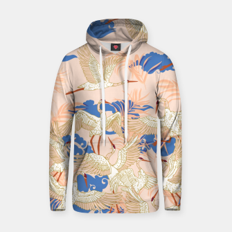 Thumbnail image of Cranes dance tropical II Sudadera con capucha, Live Heroes