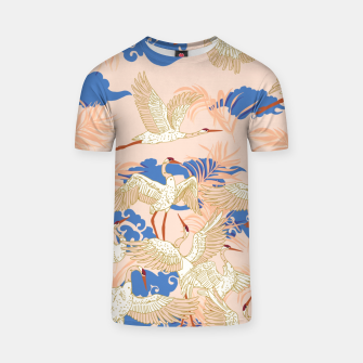 Thumbnail image of Cranes dance tropical II Camiseta, Live Heroes
