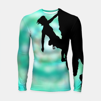 Miniature de image de Between rock and sky Longsleeve Rashguard t shirt, Live Heroes