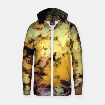 Thumbnail image of Plunge Zip up hoodie, Live Heroes