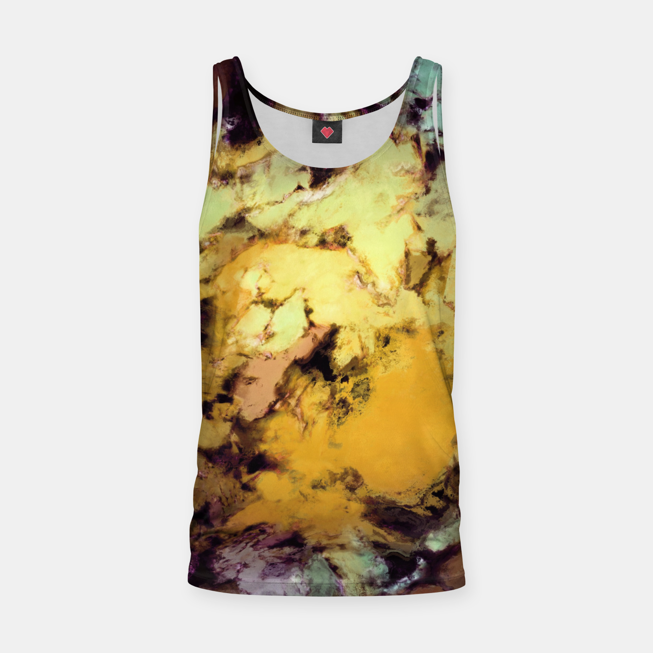 Image of Plunge Tank Top - Live Heroes
