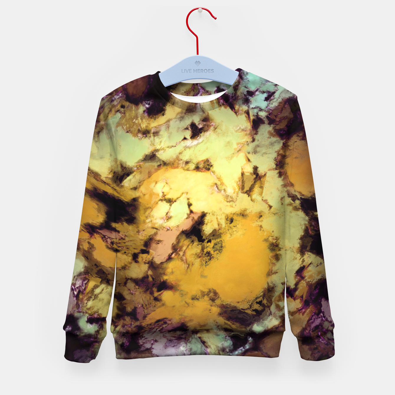 Image of Plunge Kid's sweater - Live Heroes