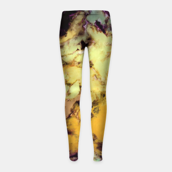 Thumbnail image of Plunge Girl's leggings, Live Heroes