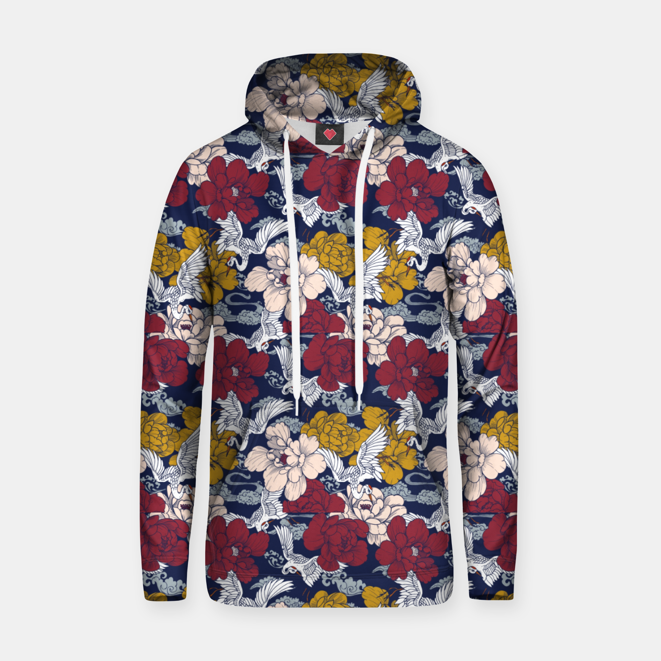 Image of Pattern Asian 77 Sudadera con capucha - Live Heroes