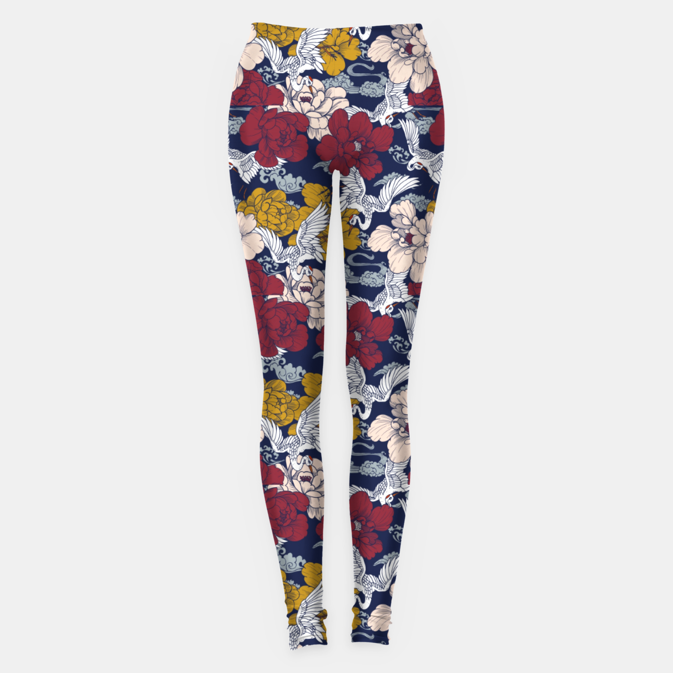 Image of Pattern Asian 77 Leggings - Live Heroes